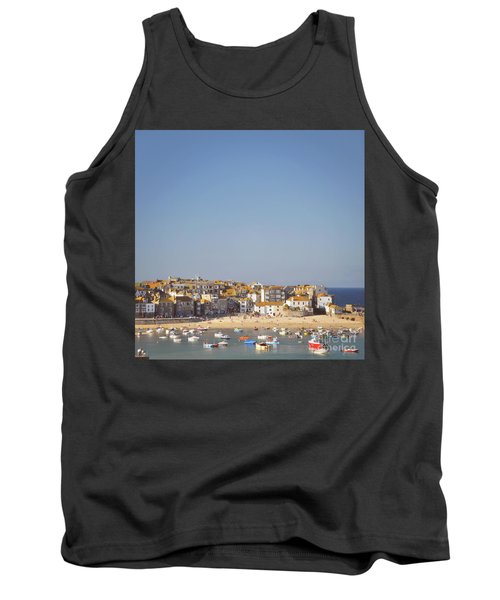 Tank Top featuring the photograph St Ives Harbour by Lyn Randle