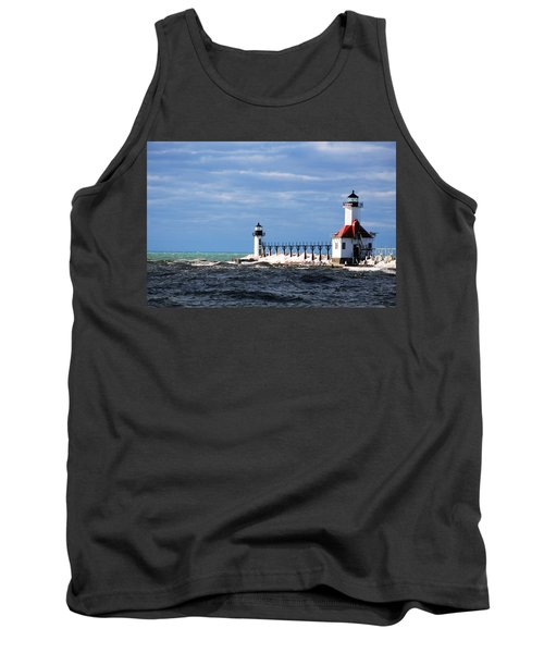 St. Joseph Lighthouse - Michigan Tank Top