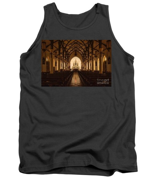 St. Louis Catholic Church Of Castroville Texas Tank Top