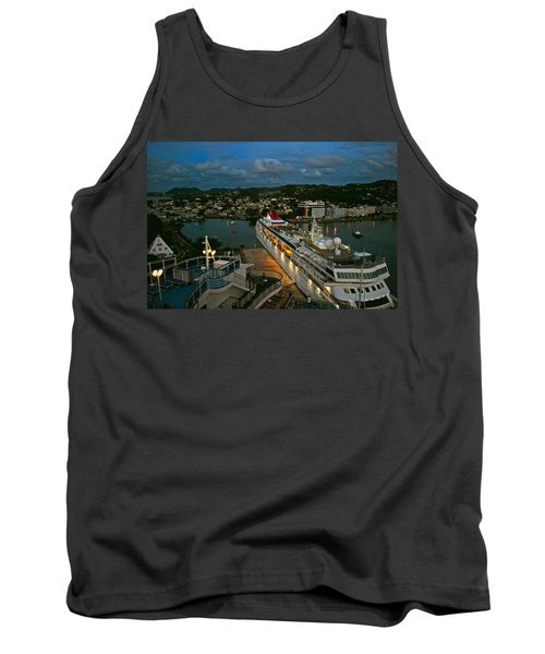 St. Lucia In The Evening Tank Top