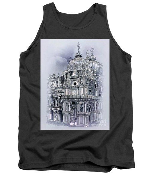 St Mark's Basilica. Tank Top