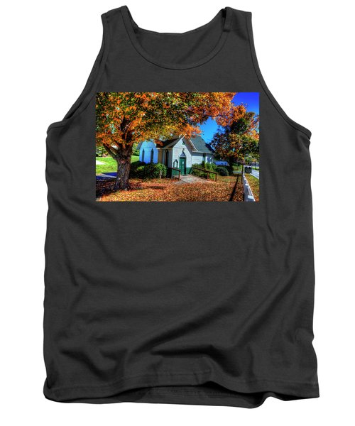 St Mary's Church Tank Top by Dale R Carlson