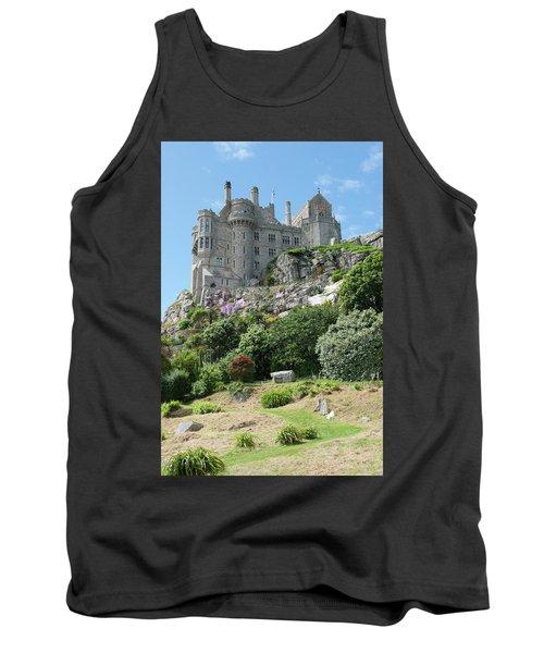 St Michael's Mount Castle II Tank Top by Helen Northcott
