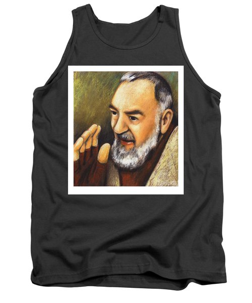 St. Padre Pio Of Pietrelcina - Jlpio Tank Top