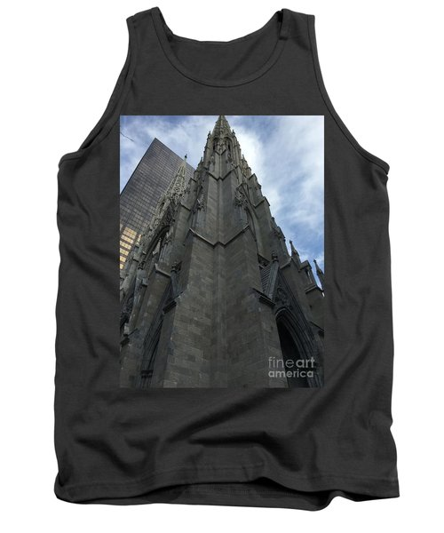 St. Patricks Cathedral Perspective Tank Top