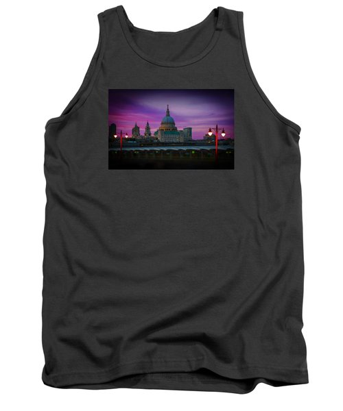 St Pauls Dusk Tank Top by David French