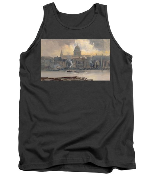 St Paul's From The River Tank Top