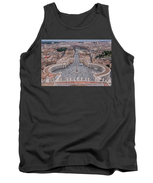 St. Peter's Square Tank Top by Sergey Simanovsky