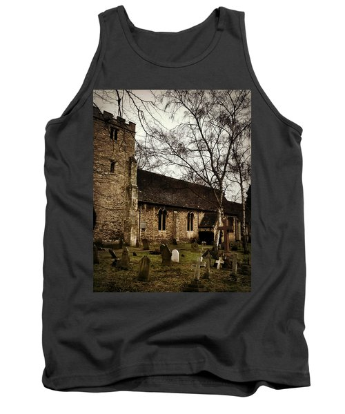 St. Thomas The Martyr Tank Top by Persephone Artworks