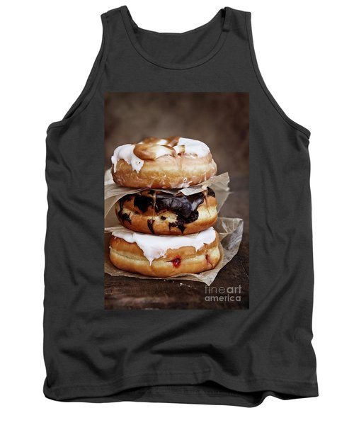 Stacked Donuts Tank Top