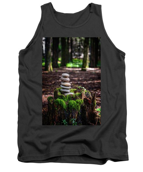Tank Top featuring the photograph Stacked Stones And Fairy Tales IIi by Marco Oliveira