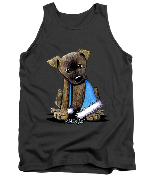 Staffordshire Bull Terrier Brindle Pup Tank Top