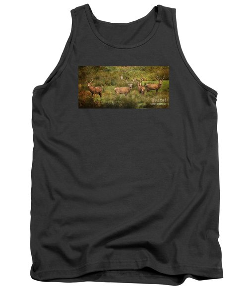 Stag Party The Boys Tank Top by Linsey Williams