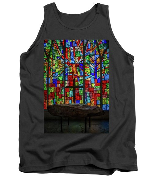 Stained Glass And Stone Altar Tank Top