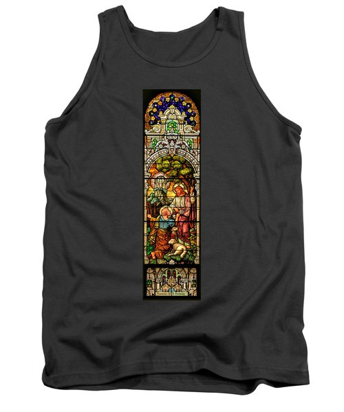 Tank Top featuring the photograph Stained Glass Scene 9 by Adam Jewell