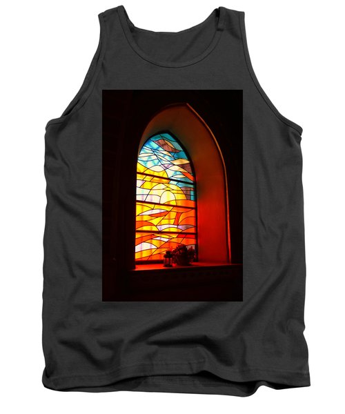 Stained Glass Window Tank Top