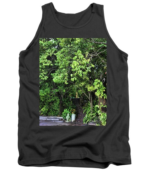 Stairs To Buddha Temple  Tank Top