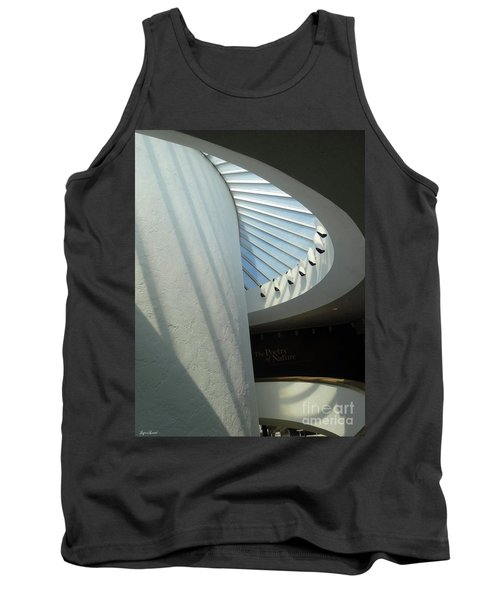 Stairway Abstract Tank Top by Lyric Lucas