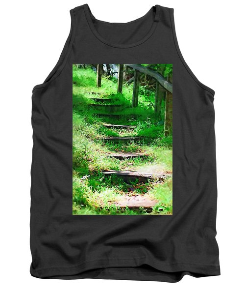 Tank Top featuring the photograph Stairway To Heaven by Donna Bentley