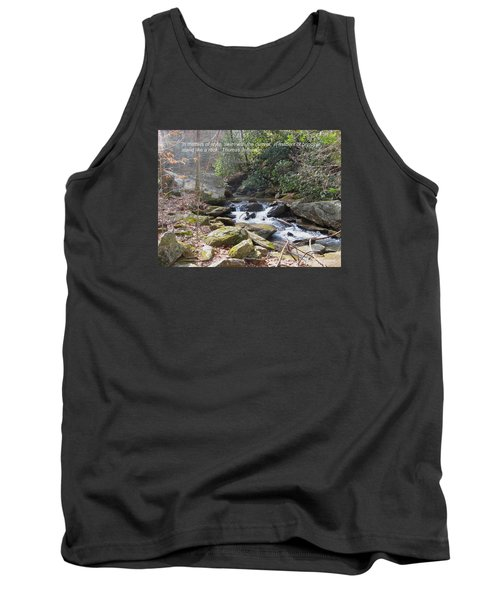 Stand Like A Rock Tank Top