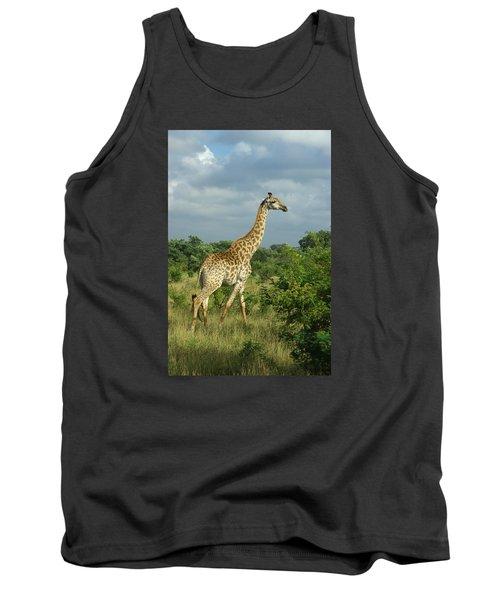 Standing Alone - Giraffe Tank Top