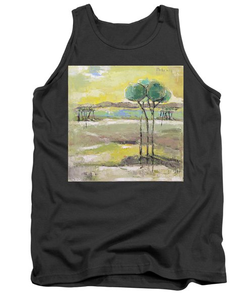 Standing In Distance Tank Top