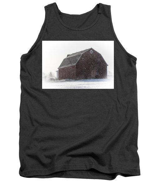 Standing Tall In The Snow Tank Top