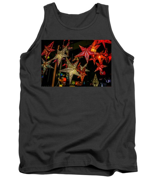 Tank Top featuring the photograph Star Lights by Lora Lee Chapman
