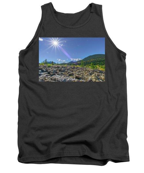 Star Over Creek Bed Rocky Mountain National Park Colorado Tank Top