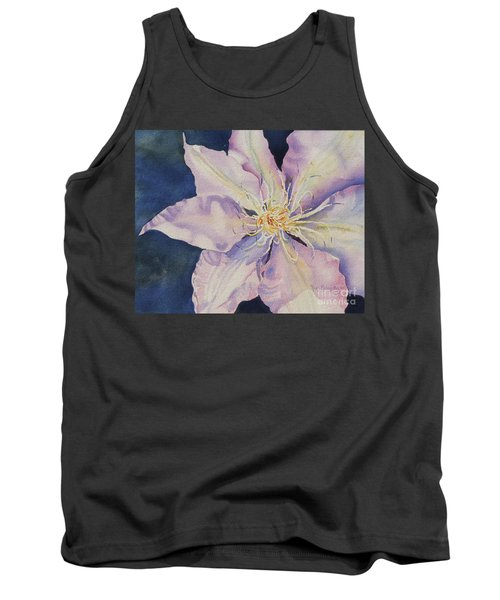 Tank Top featuring the painting Star Shine by Mary Haley-Rocks