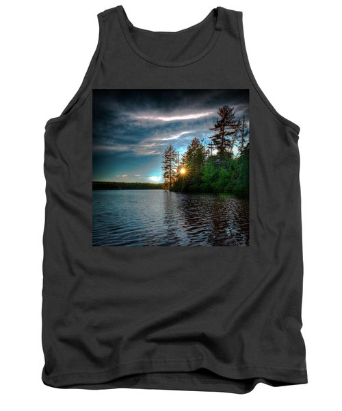 Star Sunset Tank Top by David Patterson