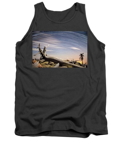Star Trails By Fort Grant Tank Top
