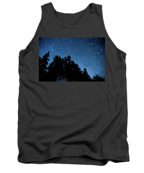 Star Trails In Acadia Tank Top