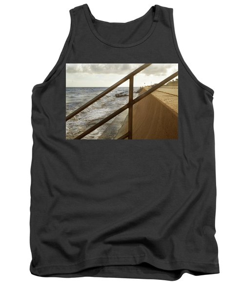 Stare Through The Lines Tank Top