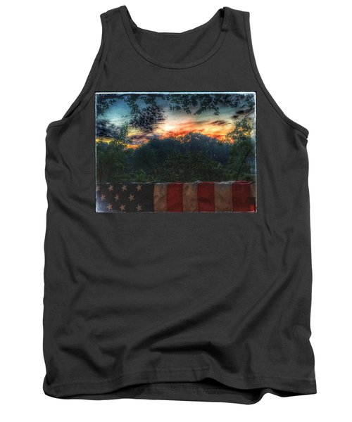 Stars Stripes And Skies Forever Tank Top