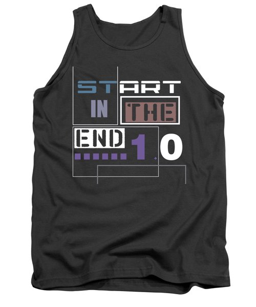 Tank Top featuring the digital art Start In The End by Alberto RuiZ