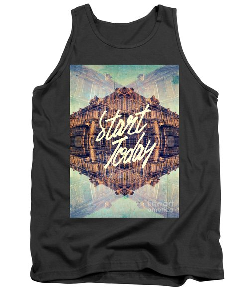 Start Today Classical French Architecture Paris France Tank Top