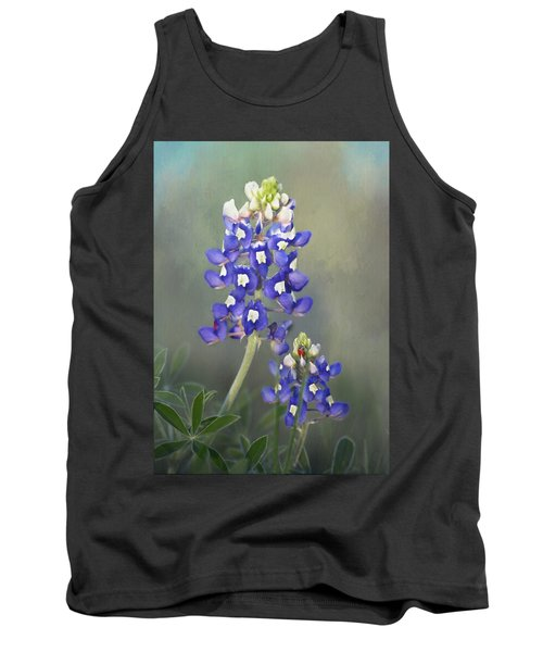 Tank Top featuring the photograph State Flower Of Texas by David and Carol Kelly