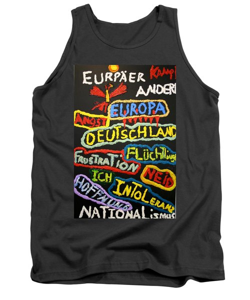 State Of Europe Tank Top by Darrell Black