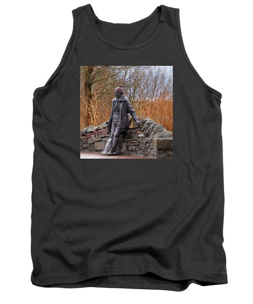 Statue Of Tom Weir Tank Top