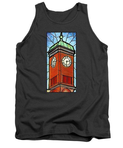 Staunton Clock Tower Landmark Tank Top by Jim Harris