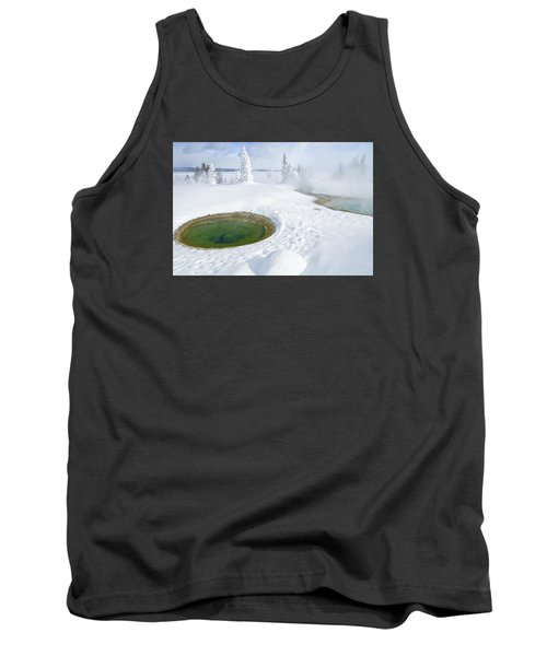 Steam And Snow Tank Top