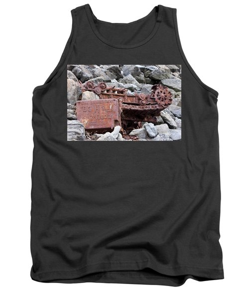 Steam Shovel Number One Tank Top by Kandy Hurley
