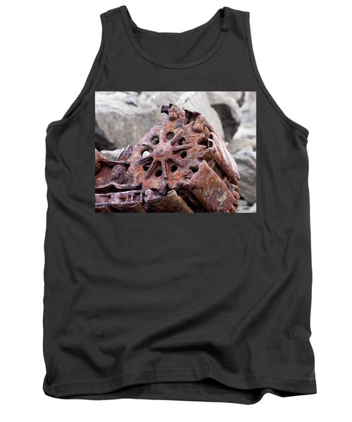 Steam Shovel Number Three Tank Top by Kandy Hurley
