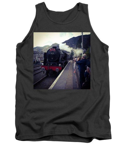 Steam Train, Ffestiniog, North Wales Tank Top