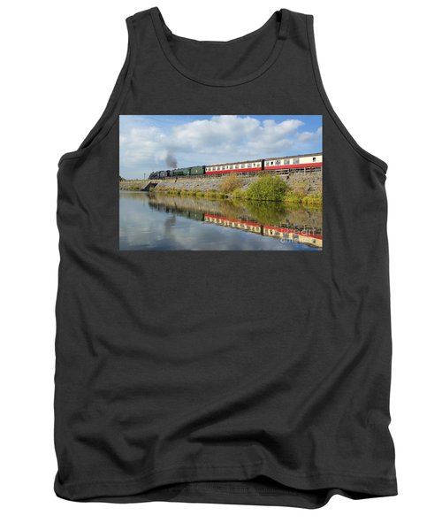 Steam Train Reflections Tank Top