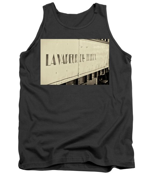 Tank Top featuring the photograph Steam Train Series No 34 by Clare Bambers