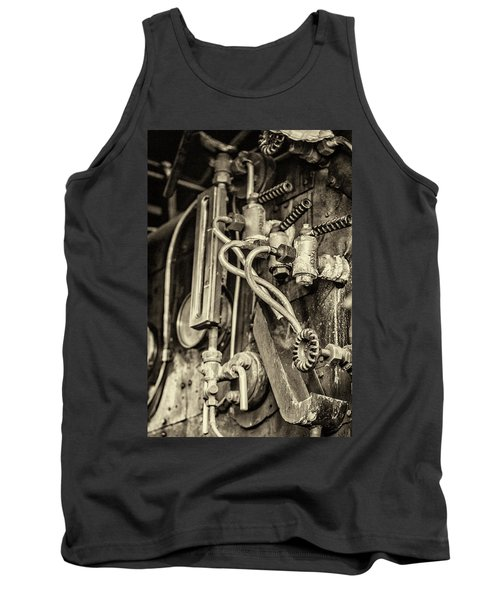 Tank Top featuring the photograph Steam Train Series No 36 by Clare Bambers