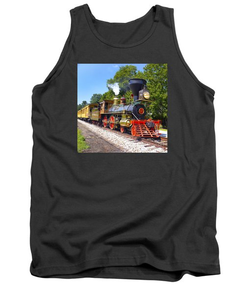 Steaming Into History Tank Top by Paul W Faust -  Impressions of Light