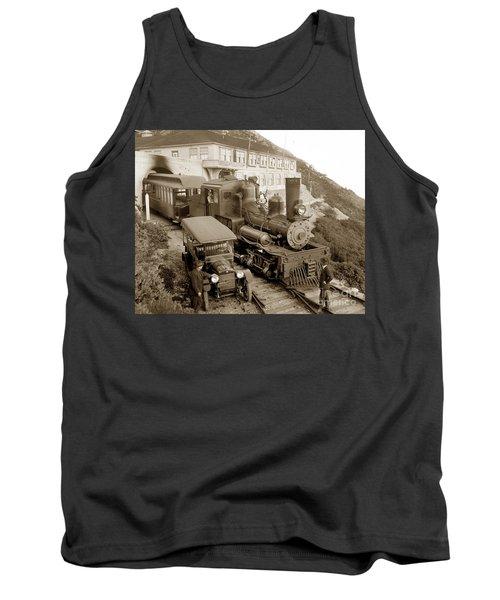 Stean Engine No. 8 Mount Tamalpais Circa 1920 Tank Top